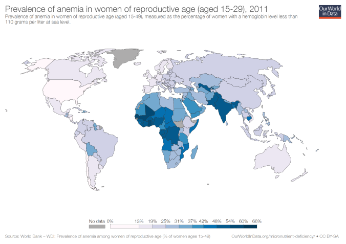 prevalence-of-anemia-in-women-of-reproductive-age-aged-15-29